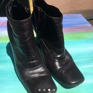 Vintage brown Prada boots